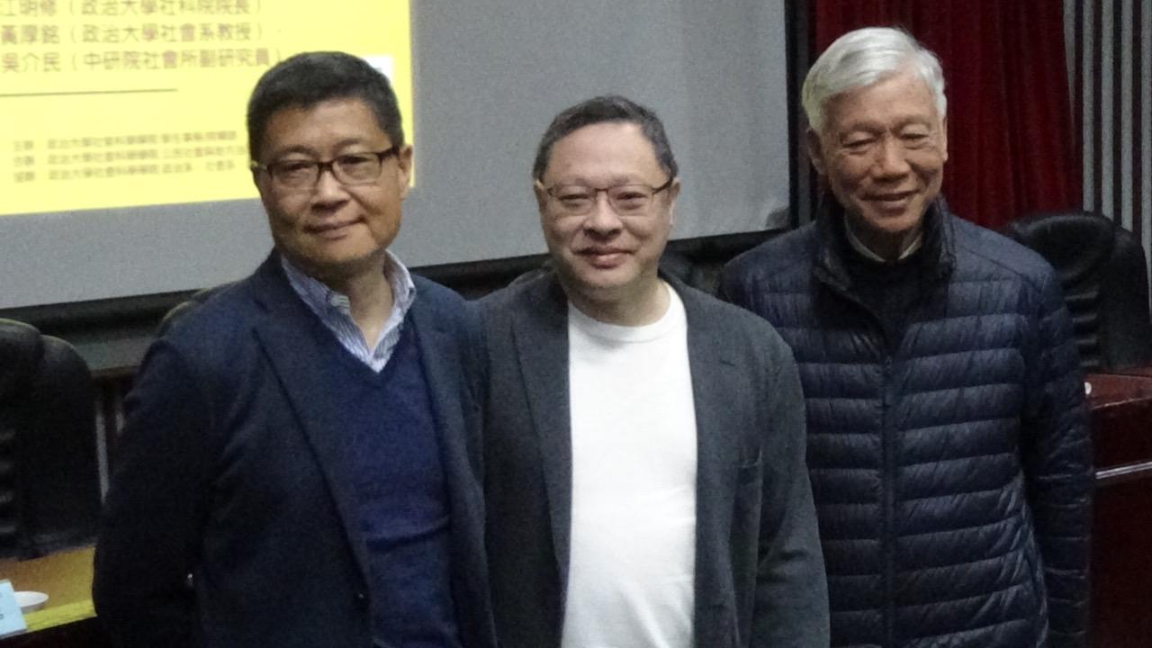 香港占中发起人陈健民抵台 担任政大客座教授一年 — 普通话主页