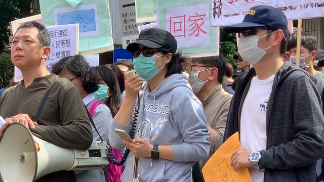 李女士的16岁儿子赴武汉短期探亲回不了家。(记者 李宗翰摄)