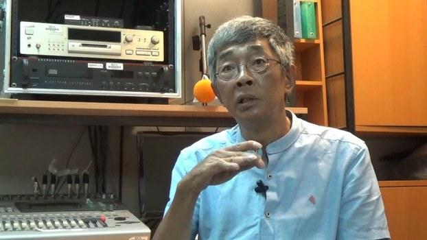 林荣基忧《逃犯条例》 离港打算永居台湾。(黄春梅摄)