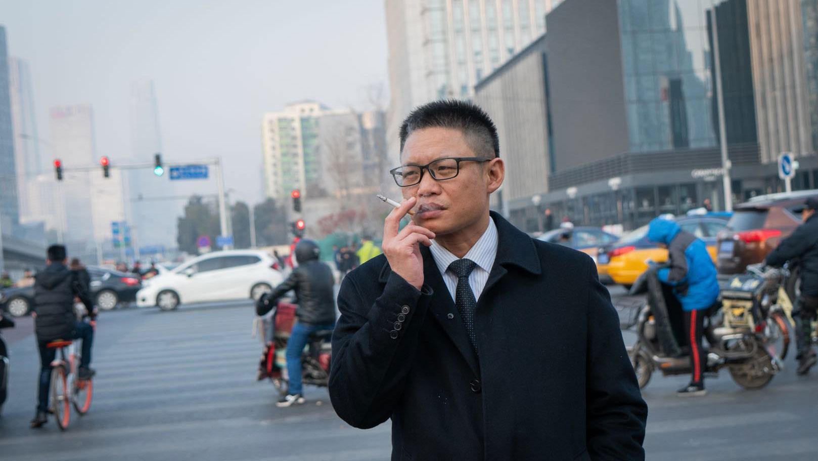 中国金融学者贺江兵(脸书图片/贺江兵@hejiangbing)