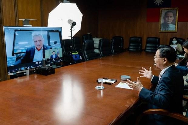 臺外交部長警告:中國準備對臺發動最後攻擊