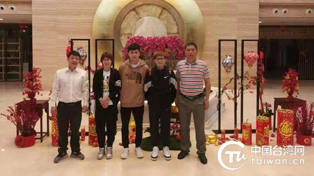中国海南台办贴文称林昀儒与中国选手同吃住、训练。(中国台湾网)