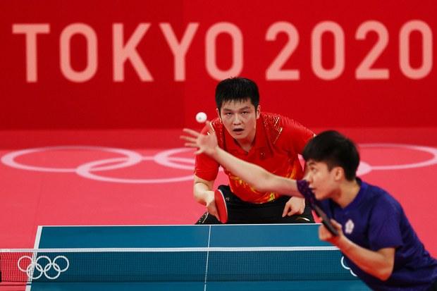 台湾、中国乒乓球手奥运较劲    网民离不开两岸政治议题