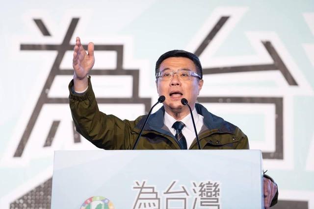 民进党主席卓荣泰在个人脸书发文声援香港。(资料照,截图自卓荣泰脸书)
