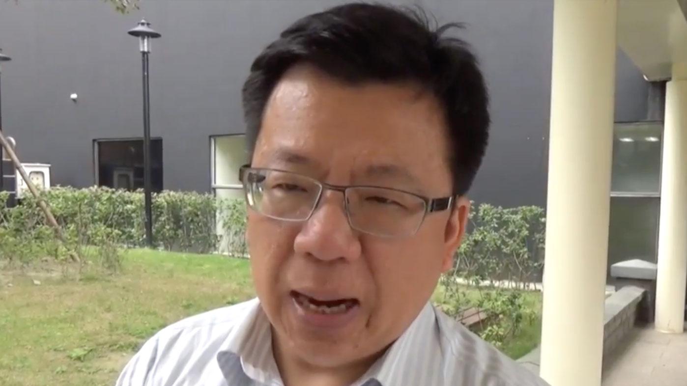 台湾民进党立法院党团书记长李俊�X表示,本会期通过《难民法》难度高。(RFA资料照)