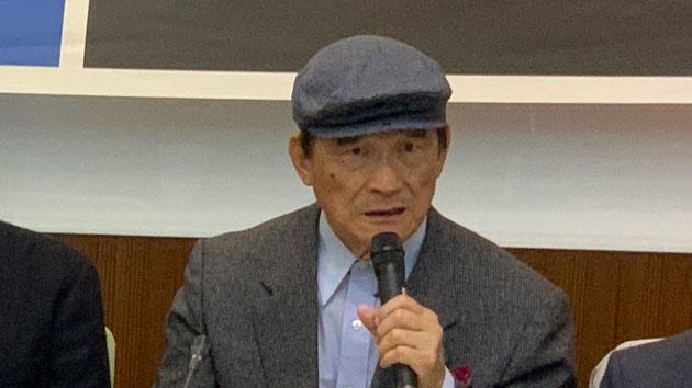 台湾国防部前部长蔡明宪自曝,卸任后获国台办邀约登陆悍然拒绝。(记者 黄春梅摄)