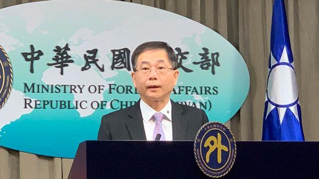 外交部亚东太平洋司司长葛葆萱透露台湾将再启动口罩援助计划。(记者 黄春梅摄)