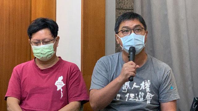 台权会秘书长施逸翔透露有缅甸人想到台湾申请庇护。(记者 黄春梅摄)