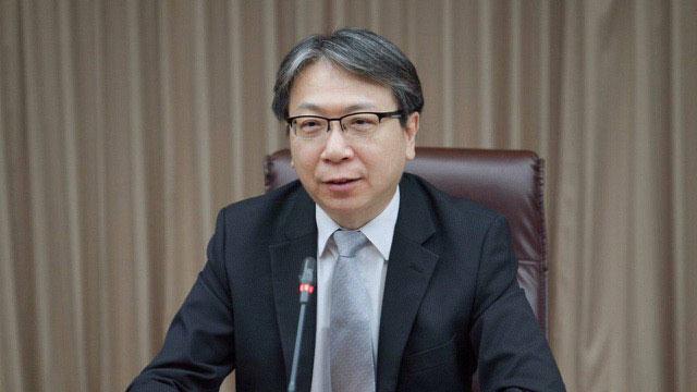 台湾的国安会副秘书长蔡明彦将持续与美国合作,落实执行国际制裁朝鲜的措施。(台湾外交部提供)