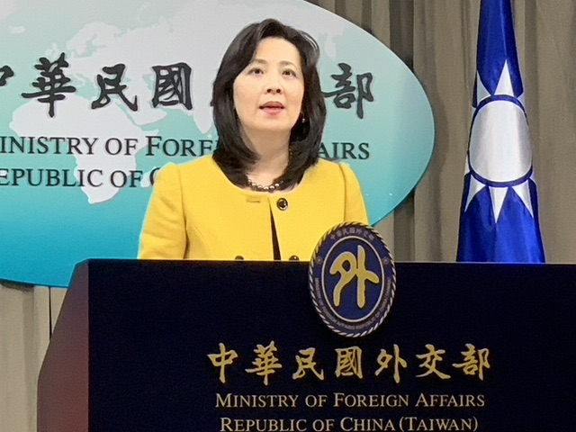台湾外交部发言人欧江安表达台湾仍希望加入世卫立场。(资料照)