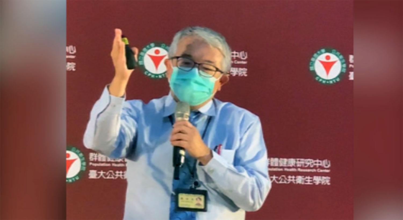 台大医院品质管理中心主任陈世英主张,边境必须考虑调整加强。(记者 黄春梅摄)