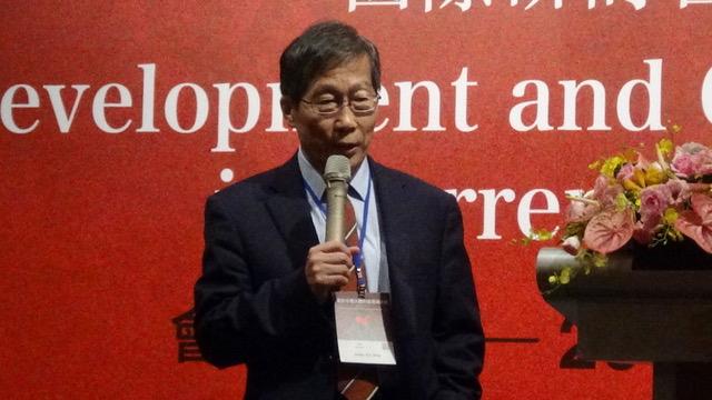 政大国际事务学院名誉教授丁树范丁树范表示,APEC毕竟台湾还是会员国;但是联合国旗下的国际组织,台湾连成员国都不是,还是要有所区隔。(RFA资料照)