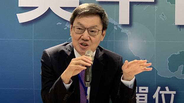 前国安会秘书长苏起(资料图/RFA)