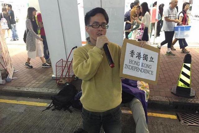 台湾成功大学政治学系教授梁文韬。(摘自梁文韬脸书)