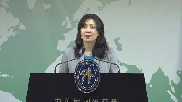 在台湾的外交部发言人欧江安感谢美国政府一贯支持。(资料照)