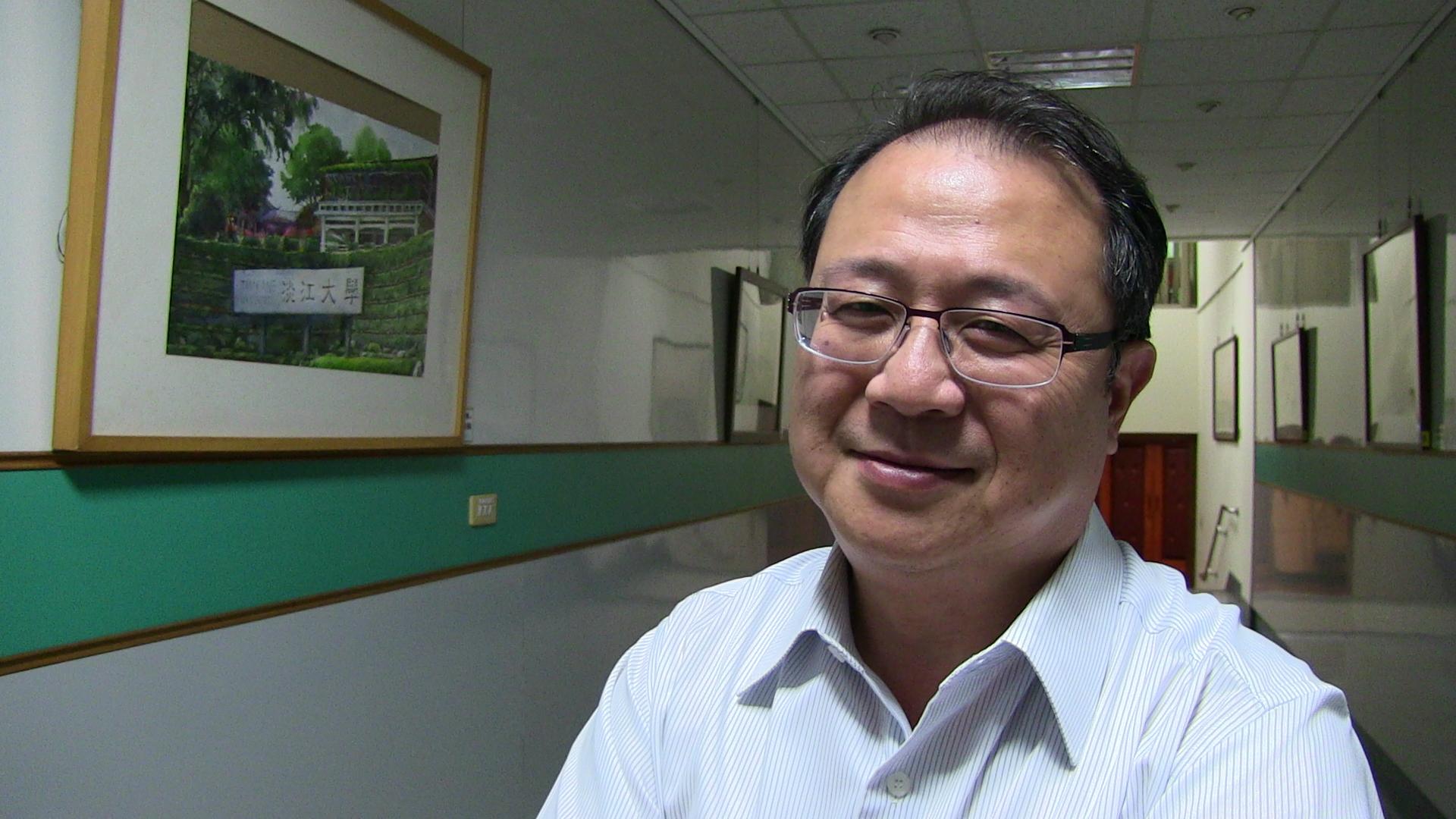 淡江大学战略研究所副教授黄介正。(记者夏小华摄)