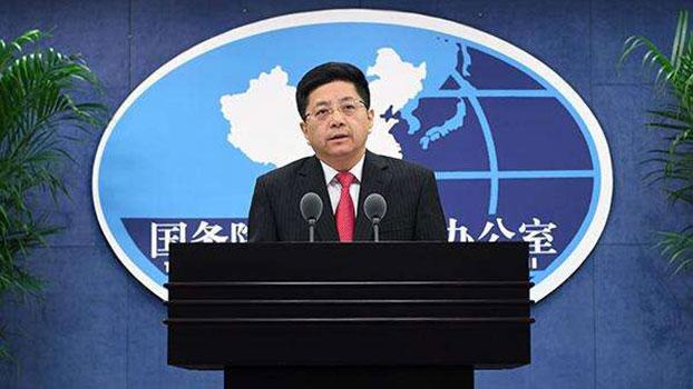 国台办发言人马晓光(图源:百度百科)