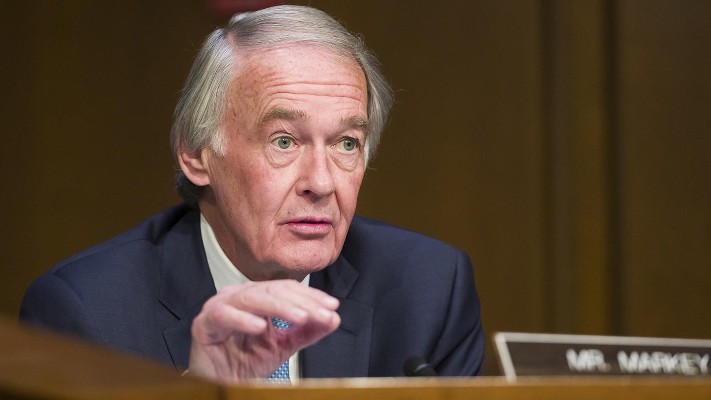 美国国会民主党籍参议员马基(Ed MArkey)。(美联社)
