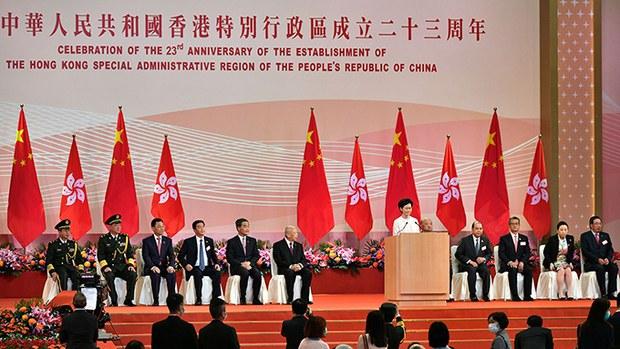 北京意图改变香港特首选举机制?