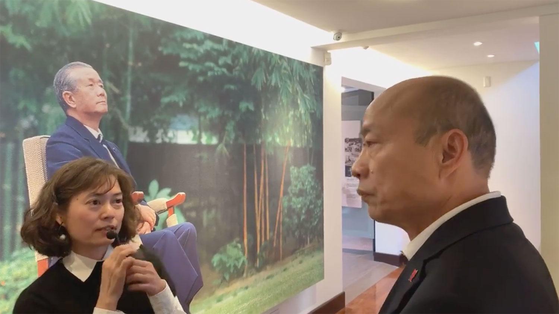 韩国瑜9日参观孙运璿科技、人文纪念馆。(韩国瑜脸书)