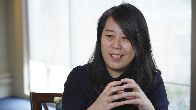 中华两岸婚姻家庭服务联盟理事长史雪燕。(资料照、记者李宗翰摄)