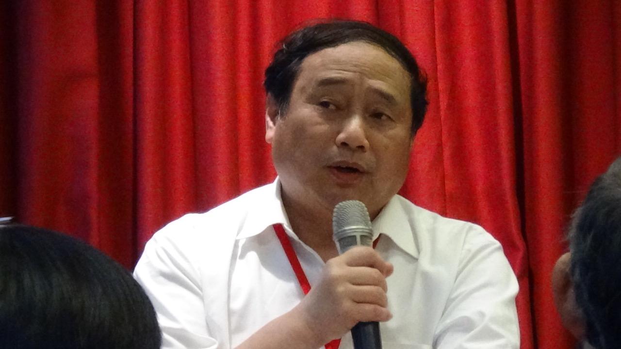 前八九民运领袖王军涛(记者夏小华摄)