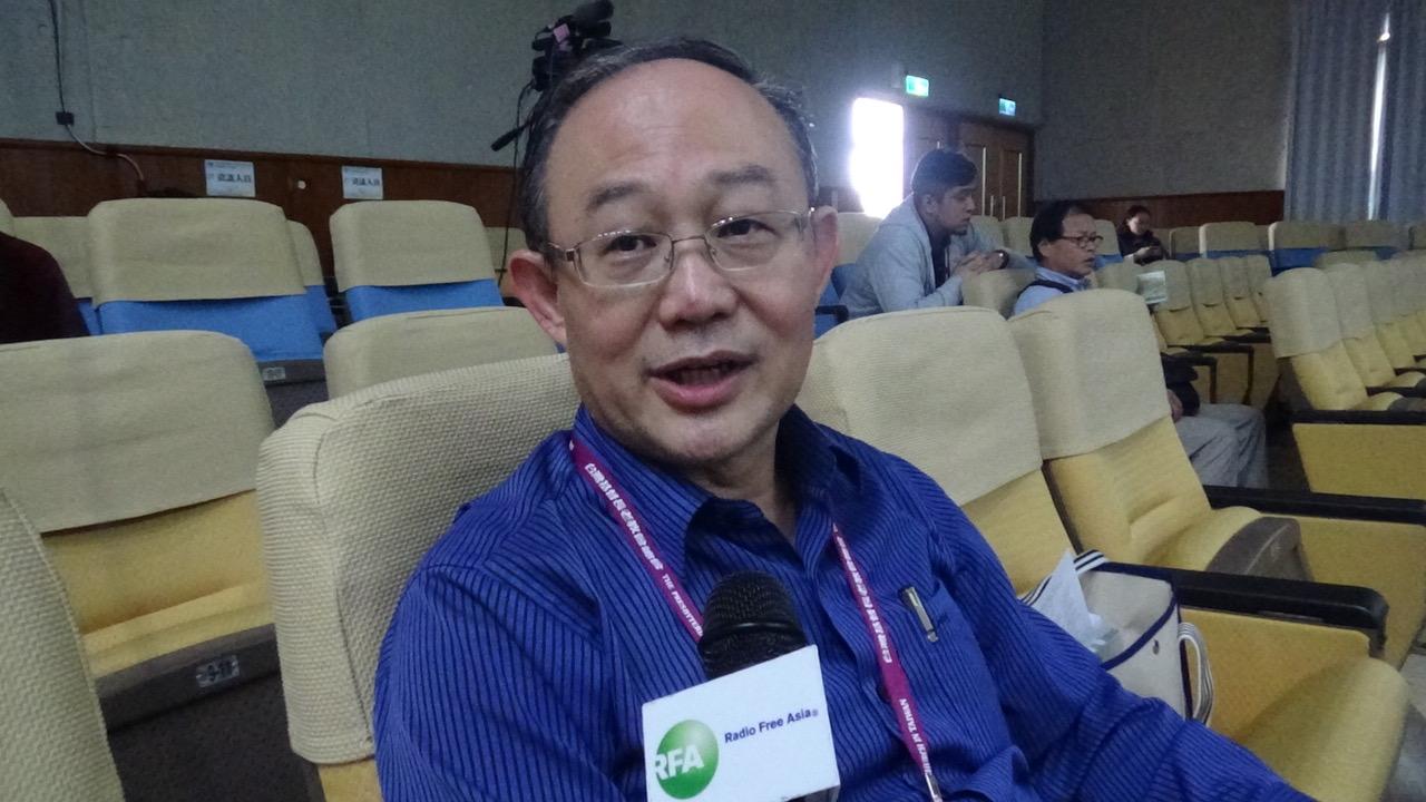 马来西亚吉隆坡归正福音教会牧师王俊才。(记者夏小华摄)