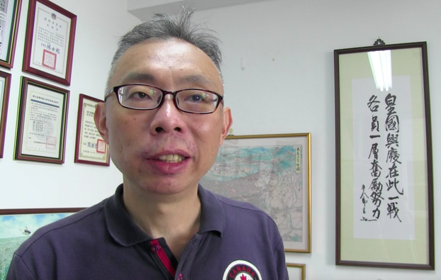 公立台湾师范大学政治所教授范世平。(记者夏小华摄)