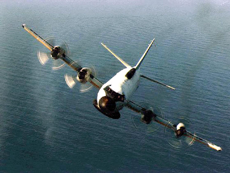 资料图片:美国海军EP-3E侦察机。(路透社)