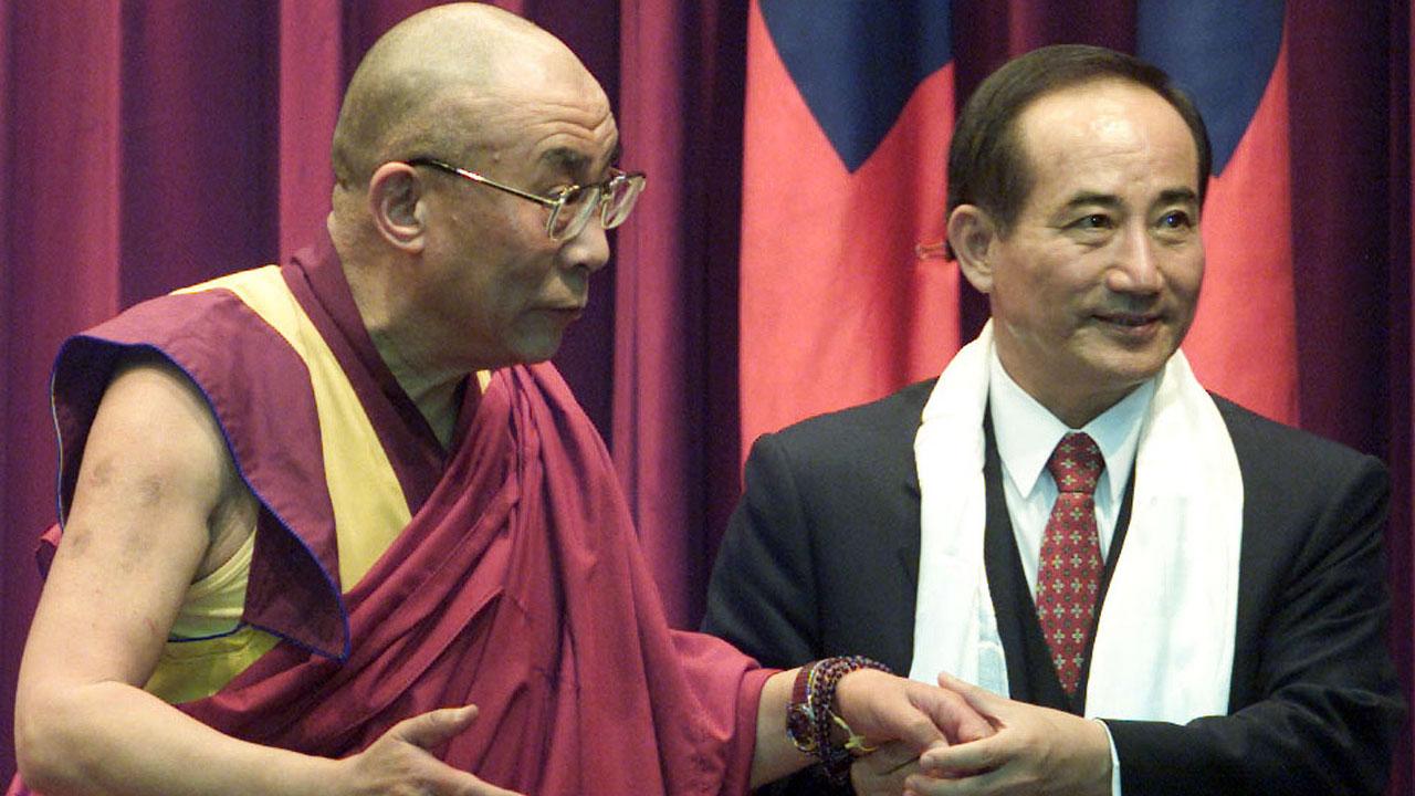 前国民党立法院长王金平也曾与到访台湾的达赖喇嘛见面。(路透社)