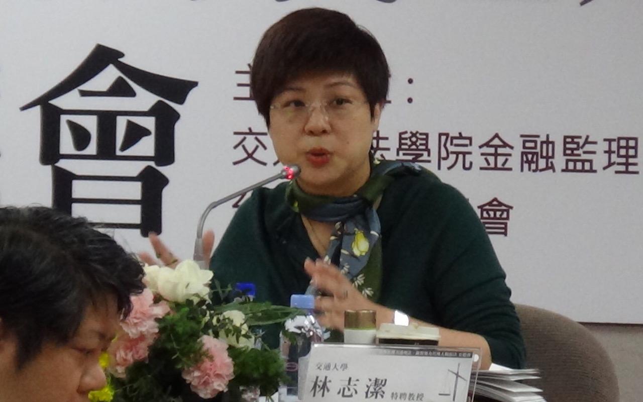 交通大学特聘教授林志洁。(记者夏小华摄)