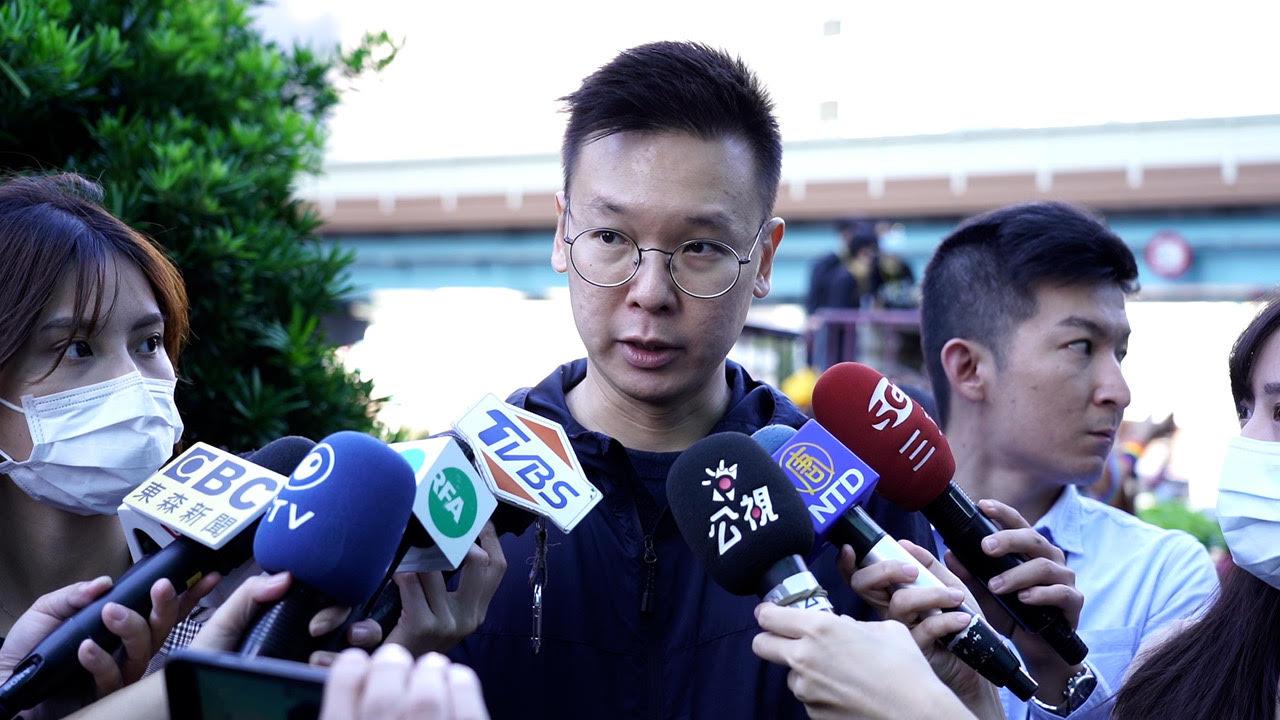 民进党副秘书长林飞帆。 (记者李宗翰)