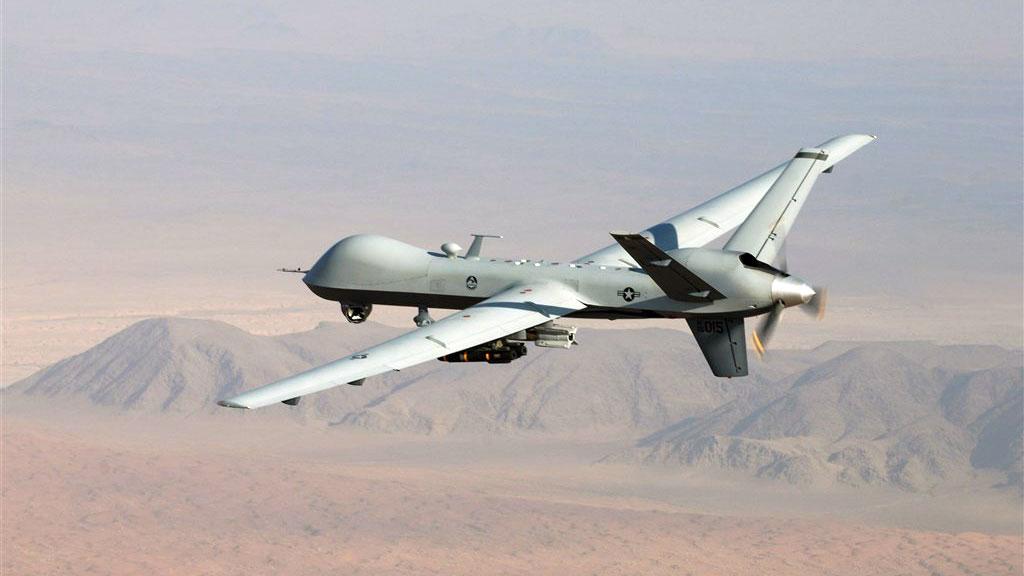 美国国务院3日宣布,美国同意出售台湾4架MQ-9无人机。图为美军同型机。(美国空军网页www.af.mil)