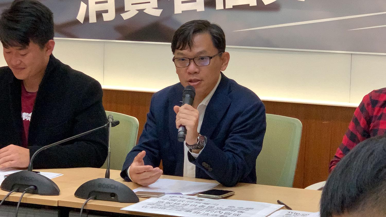 中央研究院法律所研究員邱文聰。(記者夏小華攝)