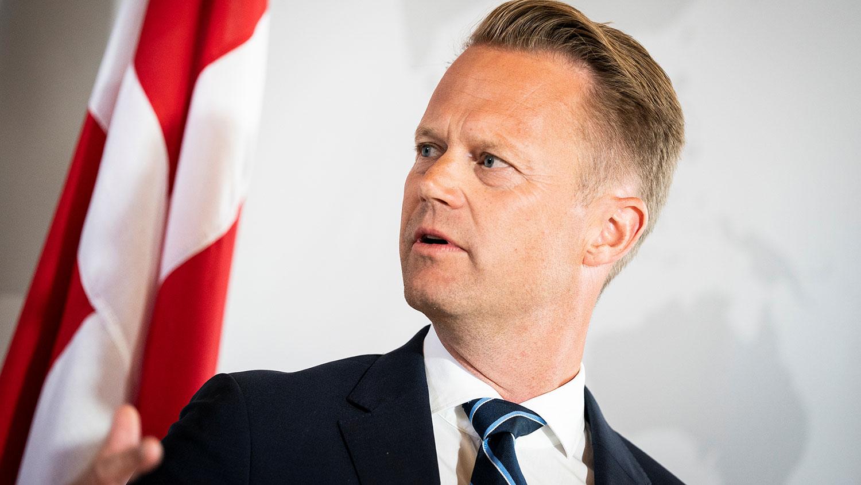 丹麦外交部长库服特。(路透社)