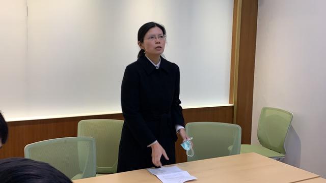 李净瑜18日单枪匹马在台北召开记者会。(记者夏小华摄)