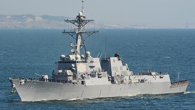 美国海军的劳伦斯号驱逐舰(William P. Lawrence)(维基百科)
