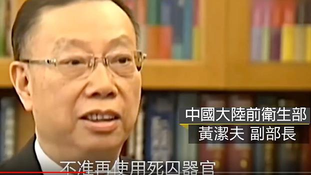 Y记者制播的专题,特别放入央视过去访问中国卫生官员对死囚器官议题的政策革新说法作平衡,影片不到一天冲上60万人次点阅,却被公司下架,有网友即时复制。(翻摄自网页)