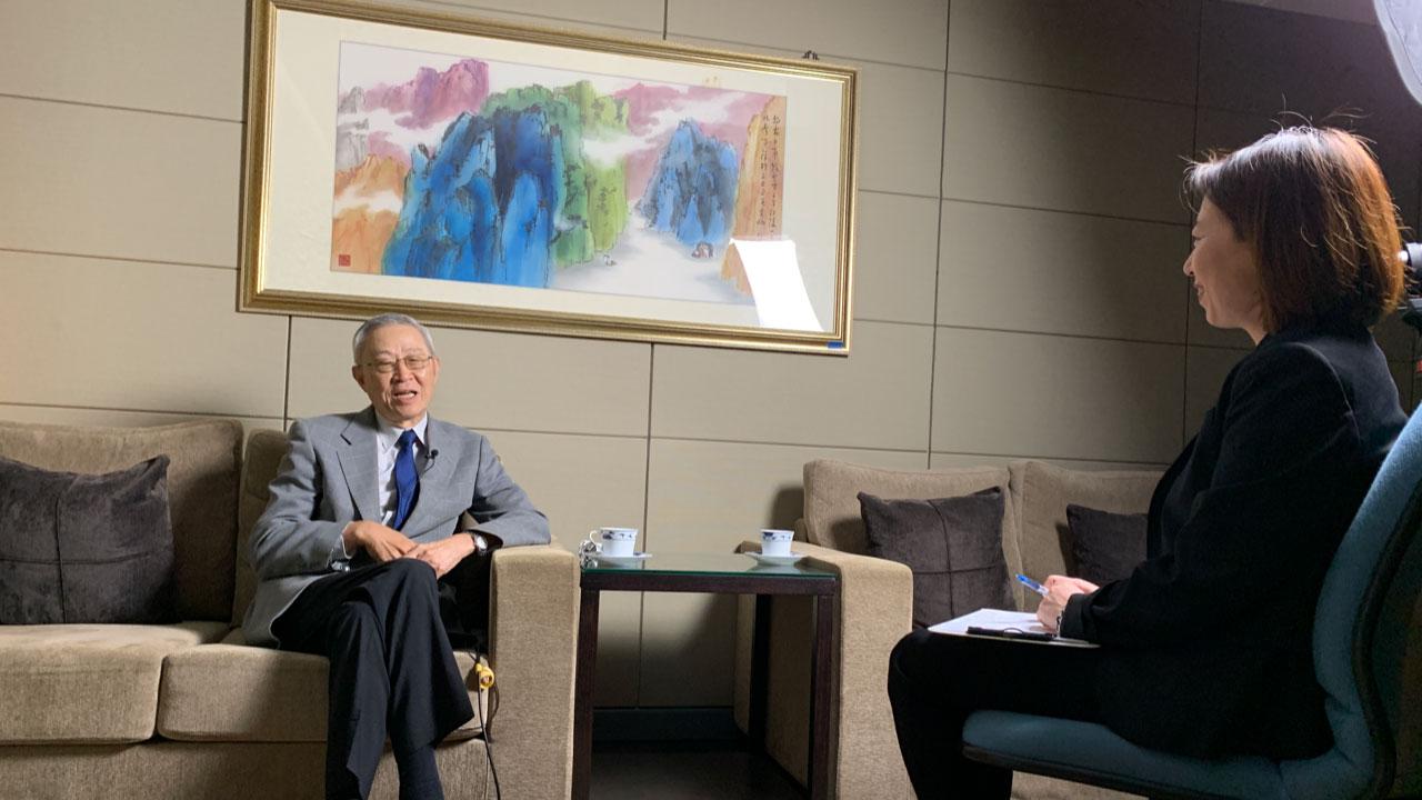 亚太和平基金会首席顾问赵春山接受自由亚洲电台专访提到,蔡英文释出过多次善意,但北京不晓得是不知道还是装作不知道。(记者夏小华摄)