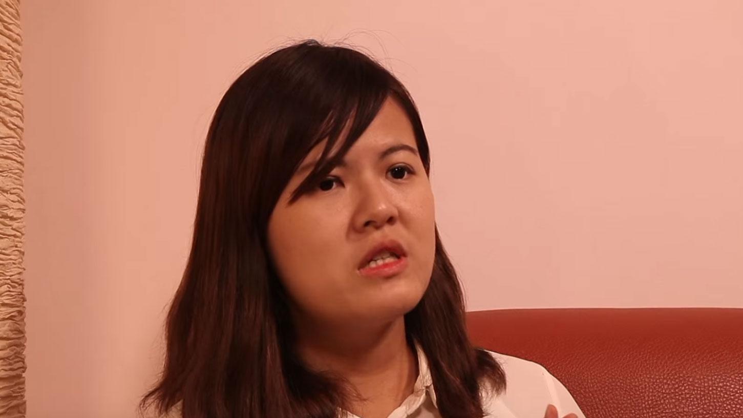 台湾民主实验室研究员曾柏瑜。(视频截图/YouTube)