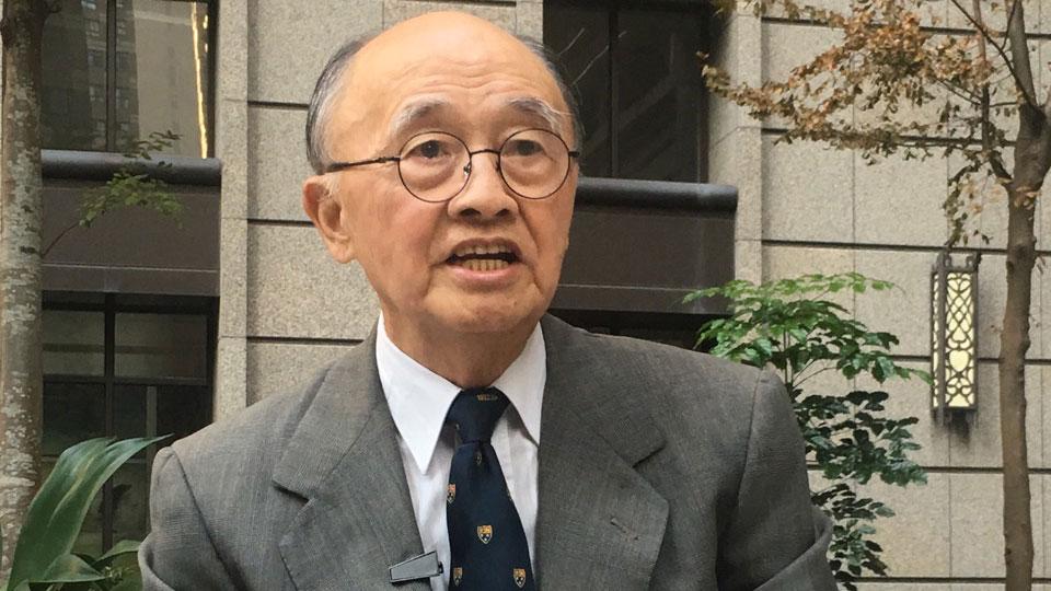 前台湾驻美代表程建人(资料图/夏小华摄)