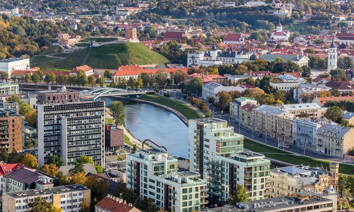 立陶宛🇱🇹首都維爾紐斯。(葛光越提供)