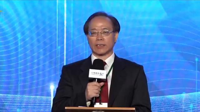 中华电信董事长谢继茂。(中华电信网路直播截图)