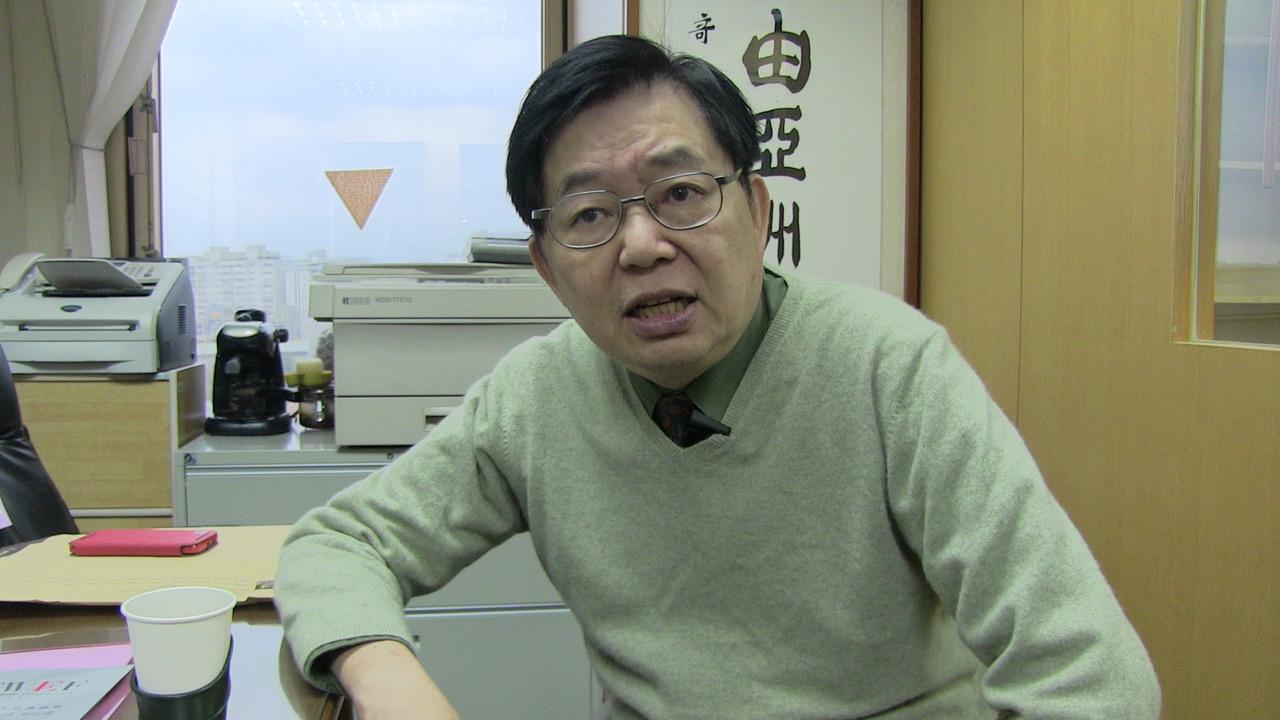 台湾政治大学国际关系研究中心美欧所研究员严震生。(资料图/夏小华摄)