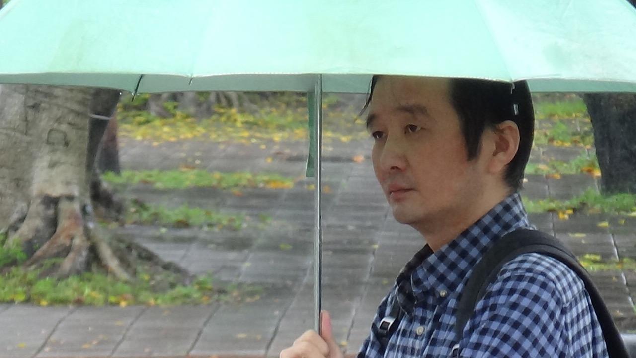 流亡台湾中国大陆异见人士龚与剑。(资料照、记者夏小华摄)