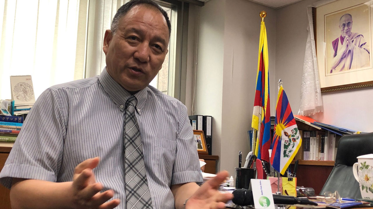 藏人行政中央驻台代表达瓦才仁。(资料照、记者夏小华摄)