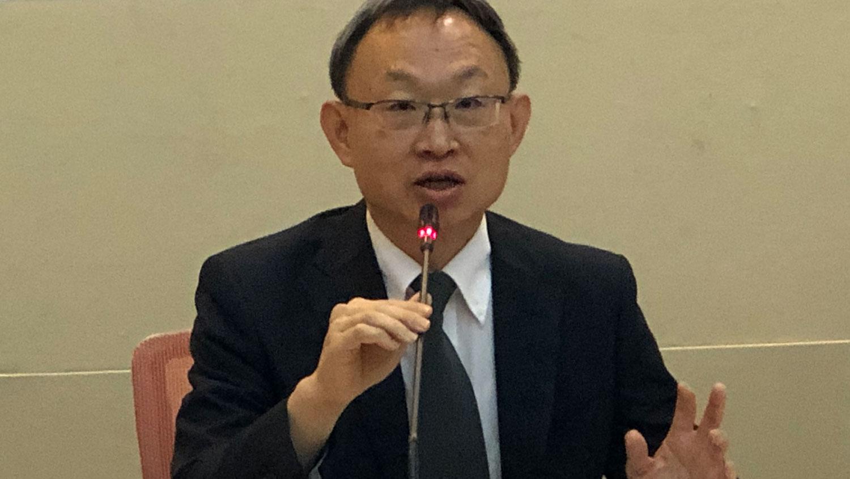 台湾东突厥斯坦协会理事长何朝栋(记者夏小华摄)