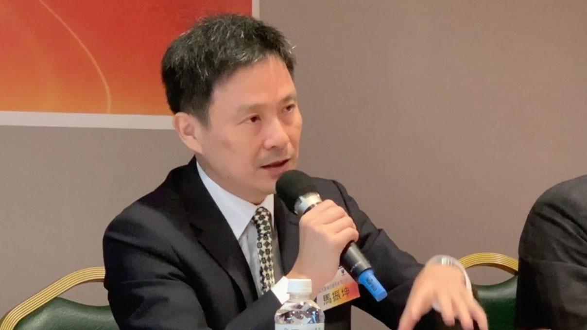 圖三、國防大學中共軍事事務研究所所長馬振坤。(記者夏小華攝)