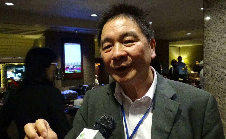 政治大学台湾安全研究中心研究员兼副主任胡瑞舟。(记者夏小华摄)
