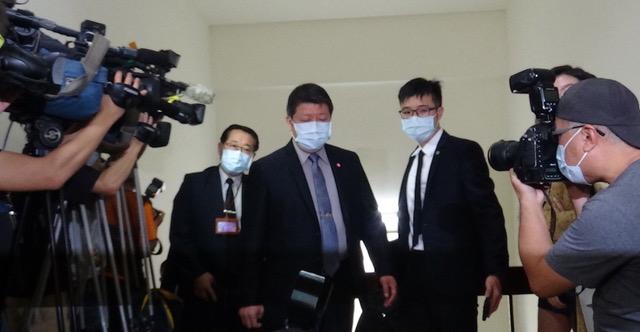 国防部副部长张哲平赴立法院备询并说明F16失联情况。(记者夏小华摄)